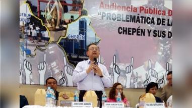 Chepén: Contraloría acoge denuncias de pobladores