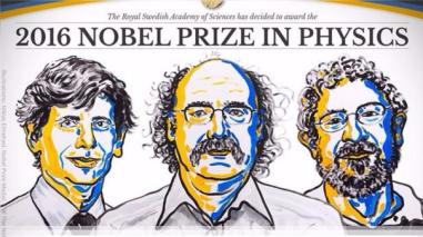 Tres británicos ganaron el Nobel de Física por investigar estados inusuales de la materia