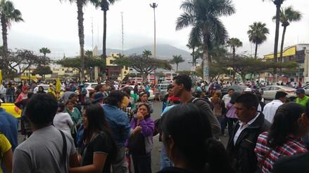 Chimbote: invasores piden libertad para encarcelado Waldo Ríos