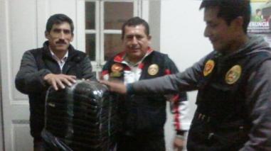 La Oroya: incautan 12 kilos de hojas de coca en bus interprovincial