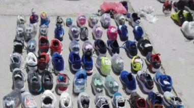 Decomisan zapatillas de contrabando valorizadas en más de US$15 mil
