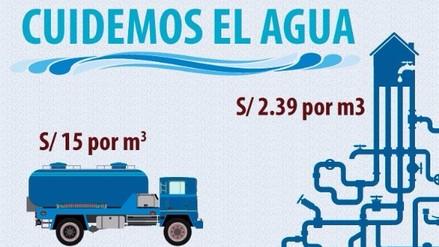 Usuarios sin acceso a red de agua potable pagan más por obtenerla