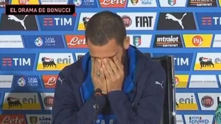 Leonardo Bonucci lloró al recordar la enfermedad que sufre su hijo
