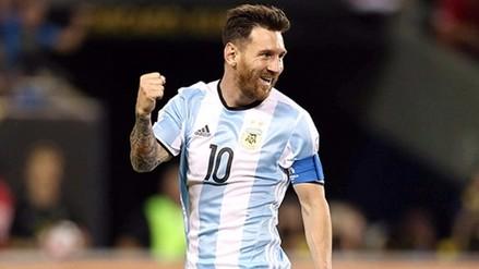 Así se divierte Lionel Messi en la doble fecha de las Eliminatorias