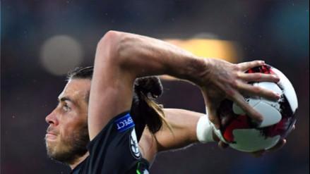 Gales empató 2-2 con Austria gracias a gran saque lateral de Gareth Bale