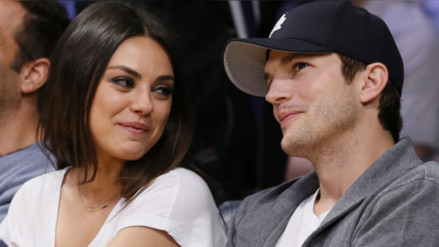 Ashton Kutcher revela sexo del bebé que espera con Mila Kunis