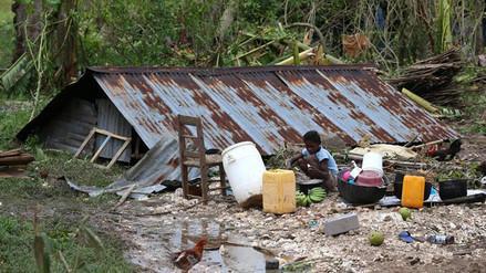 Más de 800 muertos en Haití por el paso del huracán Matthew