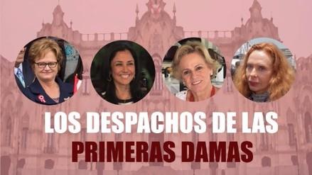 Primeras damas con oficina en Palacio de Gobierno