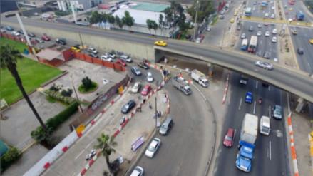 Desde este sábado se cierra por completo el acceso al viaducto San Borja Norte