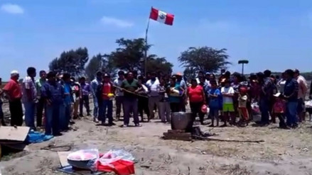 Chiclayo: desalojan a familias que invadieron predio en distrito de Picsi