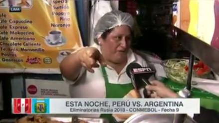 Facebook: periodista de ESPN fue víctima del humor de una vendedora peruana