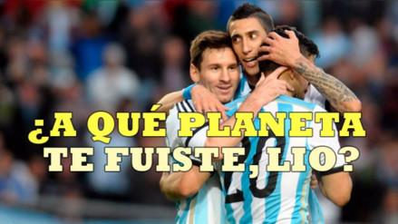 Diario Olé luego del empate ante Perú: