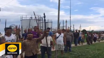 Nativos de Saramurillo permiten paso de embarcaciones por el río Marañón