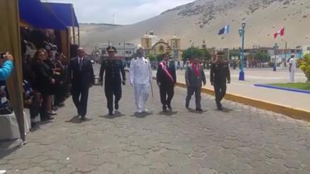 Trujillo: Rinden homenaje a Miguel Grau en puerto de Salaverry