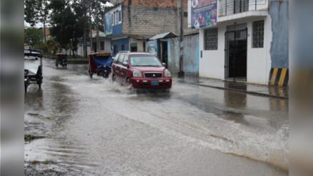 San Martín soporta fuertes lluvias y relámpagos