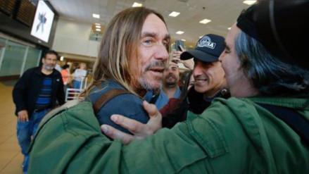 Iggy Pop llegó a Lima y Daniel F lo recibió con emoción