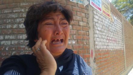 Madre exige justicia por su hijo asesinado durante asalto en Sullana