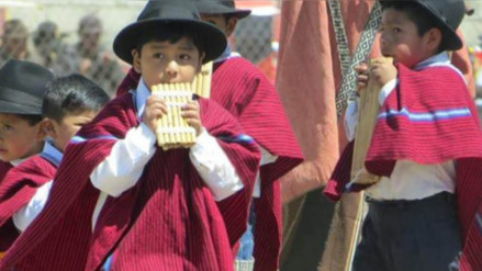 Se realizó concurso de zampoñistas en provincia de Yunguyo