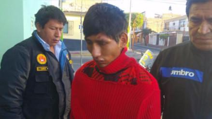 Arequipa: capturan a miembro de banda delincuencial en Cerro Colorado