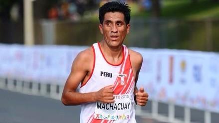 Raúl Machacuay no pudo seguir y se retiró de la Maratón RPP