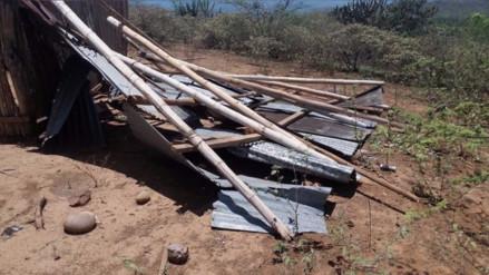 Fuertes vientos y lluvias deja 380 casas afectadas en Bagua y Utcubamba