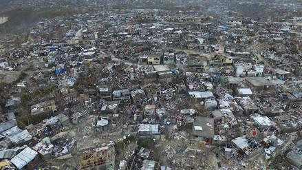 Fotos: esta fue la destrucción que dejó el huracán Matthew en Haití