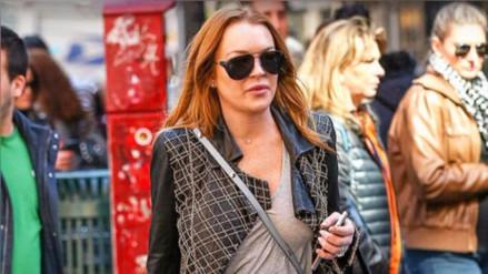 Lindsay Lohan visita a refugiados sirios