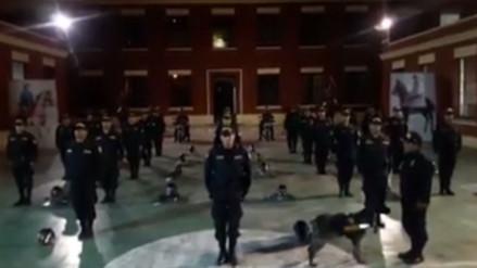 Facebook: Policía Nacional del Perú lanza un curioso reto a su similar de Chile
