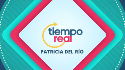 Haz una pausa con Patricia del Río al mediodía en Tiempo Real