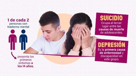El suicidio es la tercera causa de muerte entre adolescentes a nivel mundial