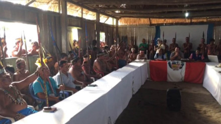Saramurillo: reanudarán este miércoles reunión entre nativos y comisión del gobierno