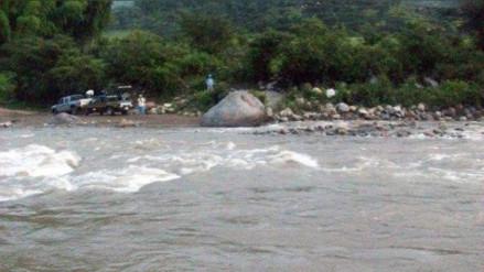 Tres heridos dejó despiste de camioneta hacia el río Utcubamba