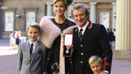 Rod Stewart es nombrado Caballero del Imperio Británico