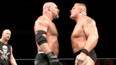 Goldberg recibió el reto para enfrentar a Brock Lesnar en la WWE