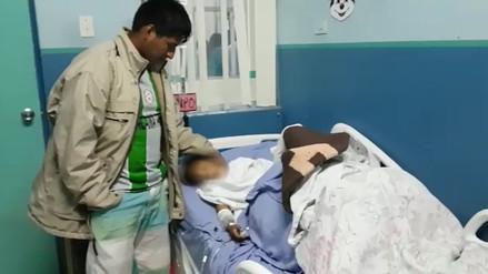 Niño de 4 años podría perder las piernas tras explosión de granada en el Vraem