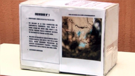 En 90 días se sabrá identidad de los 23 cuerpos hallados en fosas del Vraem