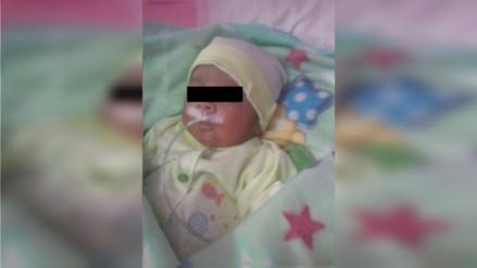 Trujillo: bebé necesita ayuda para salvar su vida