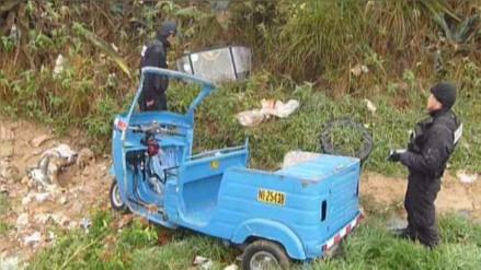 Capturan a integrante de banda que robaban mototaxis en Cajamarca