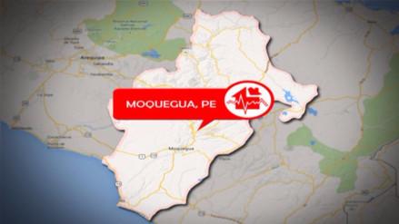 Sismo de 3.3 grados de magnitud se registró en Moquegua