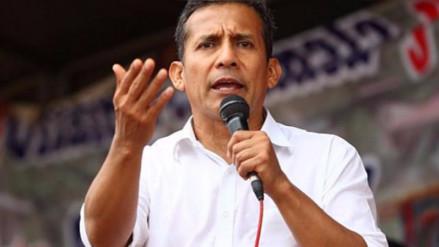 Humala viajó a España el mismo día que fue incluido en investigación fiscal