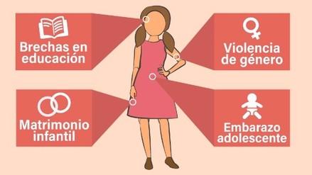 ¿Cuáles son los problemas que más afectan a las niñas y adolescente en el mundo?