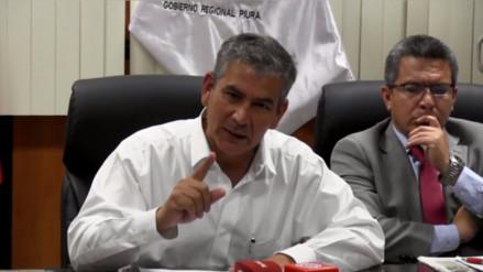 Gobernador Regional de Piura le responde a ministro Basombrío