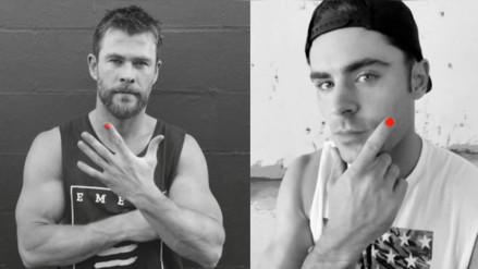 Facebook: la iniciativa que invita a las celebridades a pintarse una uña de la mano
