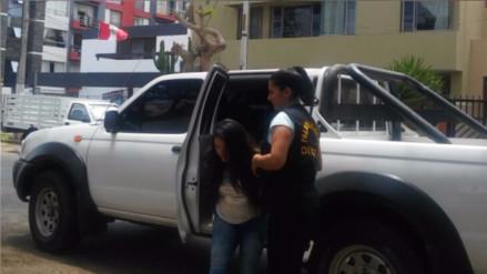 Huamachuco: caen dos personas con 3 kilos de PBC