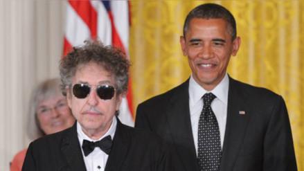 Barack Obama felicita en Twitter a Bob Dylan por el Nobel