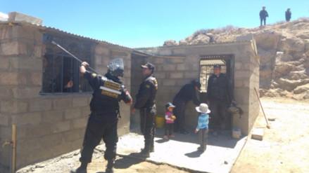 Desalojan pacíficamente a invasores del distrito de Yarabamba