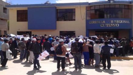 Justicia decidirá suerte de funcionarios del Gobierno Regional en Cutervo