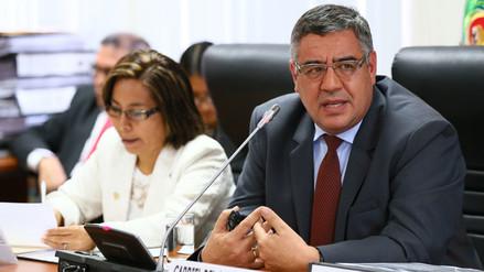 El presidente ejecutivo de EsSalud presentó plan anticorrupción