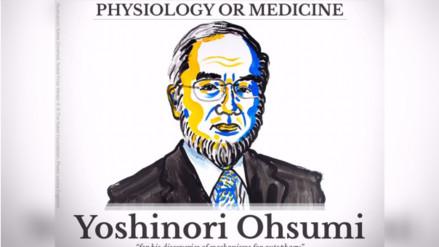 El japonés Yoshinori Ohsumi es el ganador del Nobel de Medicina