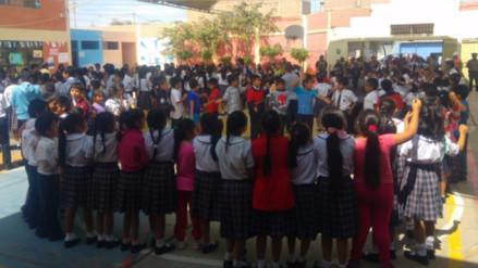 Video: Así participaron los escolares en el IV Simulacro Nacional de Sismo y Tsunami